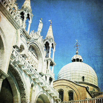 Photograph - Basilica Di San Marco - Venice by Lisa Parrish