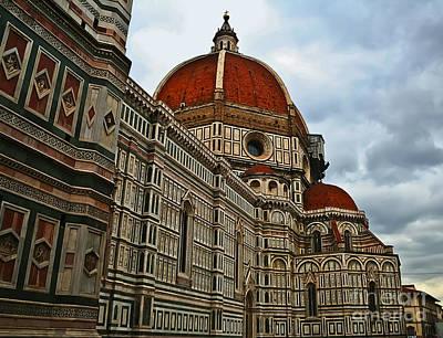 Photograph - Basilica Di Santa Maria Del Fiore  by Elvis Vaughn