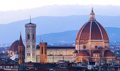 Photograph - Basilica Di Santa Maria Del Fiore - Florence Italy by Carl Amoth