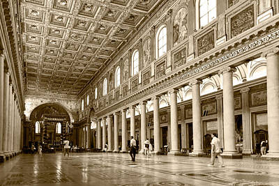 Basilica Di Santa Maria Maggiore Art Print