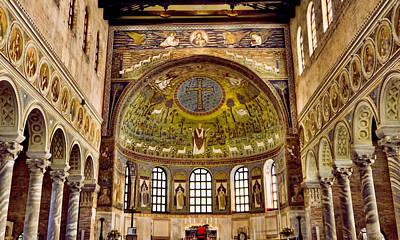 Basilica Di Sant'apollinare Nuovo - Ravenna Italy Art Print by Jon Berghoff