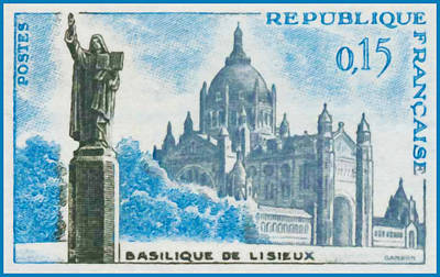 Calvados Painting - Basilica Lisieux by Lanjee Chee