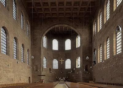 Basilica Of Constantine. 3rd C. - 4th Art Print