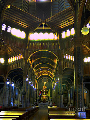 Basilica Of Our Lady Of The Angels - Cartago - Costa Rica Art Print