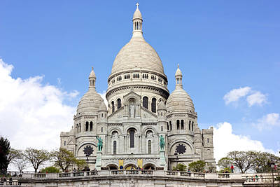 Sacre Coeur Photograph - Basilica Of Sacre Coeur by Pati Photography