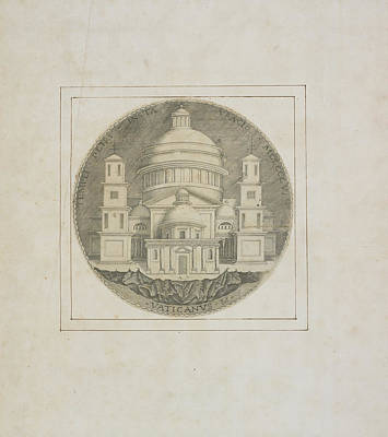 Basilica Of Saint Peter Art Print by British Library
