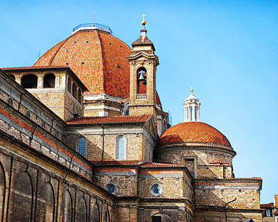 Basilica Of San Lorenzo Art Print by David Waldo