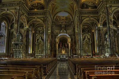 Photograph - Basilica Of St. Josaphat by David Bearden