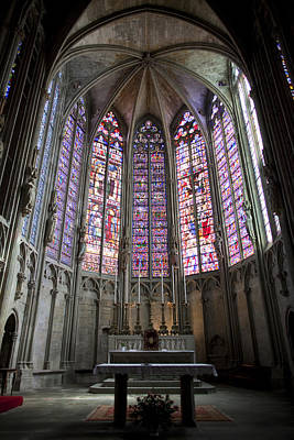 Oratory Photograph - Basilica Of St Nazaire And St Celse by Ruben Vicente