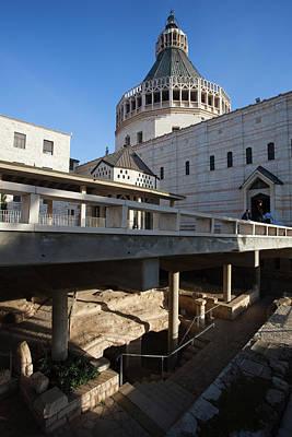 Basilica Of The Annunciation, Nazareth Art Print