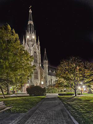 Photograph - Basilica Of The Sacred Heart by Dennis James