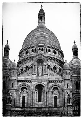 Sacred Heart Of Jesus Photograph - Basilica Of The Sacred Heart Of Jesus by John Rizzuto