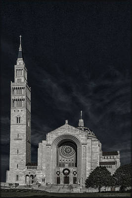 Photograph - Basilica Of The Shrine Of The Immaculate Conception by Erika Fawcett