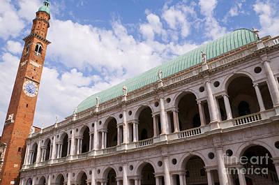 Photograph - Basilica Palladio In Vicenza by Brenda Kean