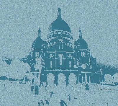 Sacre Coeur Photograph - Basilica Sacre-coeur by Eric Tressler