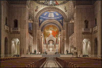 Photograph - Basilica-shrine Of The Immaculate Conception by Erika Fawcett
