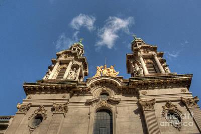 Photograph - Basilica Twin Spires by Deborah Smolinske