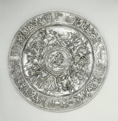 Genoa Drawing - Basin With Scenes From The Life Of Cleopatra After A Sketch by Litz Collection