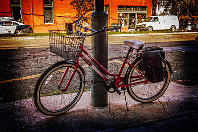 Photograph - Basket And Bags by Melinda Ledsome