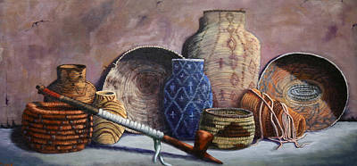 Painting - Basket Collection by Catherine Link