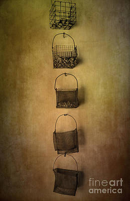 Basket Deco Art Print by Svetlana Sewell
