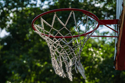 Basketball Abstract Photograph - Basket - Featured 3 by Alexander Senin