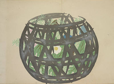 Dynamic Drawing - Basket, Kamisaka, Sekka, Artist, Date Issued 1909 by Artokoloro