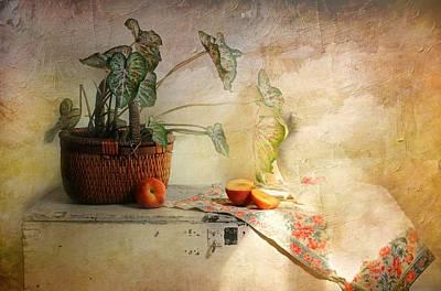 Basket Of Faith Art Print by Diana Angstadt