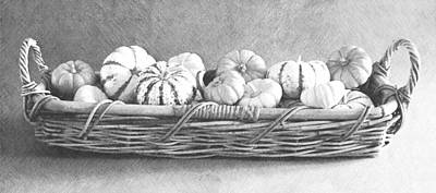 Photograph - Basket Of Gourds by Frank Wilson