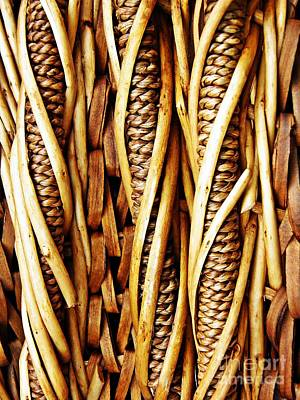 Folk Art Photograph - Basket Weave by Sarah Loft
