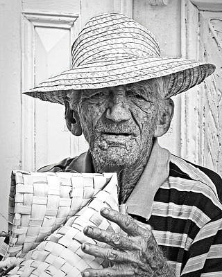 Photograph - Basket Weaver by Dawn Currie