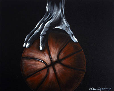 Painting - Basketball Legend by Dani Abbott