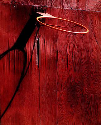 Basketball Hoop Art Print by Lane Erickson