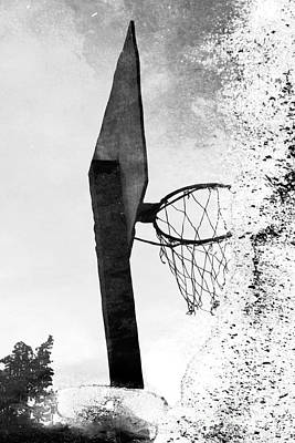 Photograph - Basketball Hoop by Yvonne Haugen