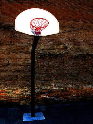 Basketball Art Print by Lane Erickson