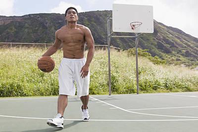 Basketball Player II Print by Brandon Tabiolo