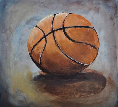 Basketball  Art Print by Shannon Lee