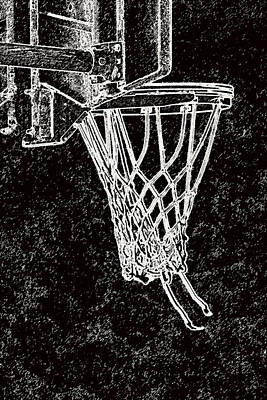 Basketball Years Print by Karol Livote