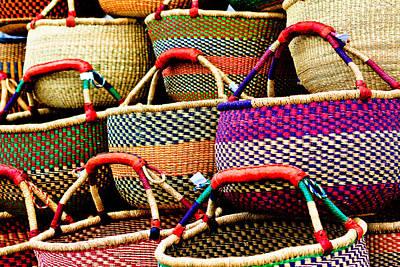 Photograph - Baskets by Ben Graham