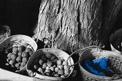 Art Print featuring the photograph Baskets by Cassandra Buckley