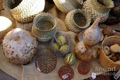 Photograph - Baskets For Sale by Kerri Mortenson