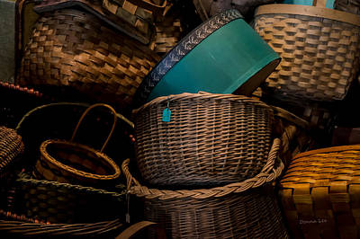 Photograph - Baskets Galore by Donna Lee