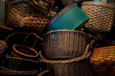 Baskets Galore Art Print