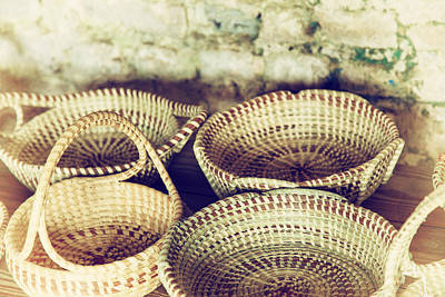 Photograph - Baskets by Karol Livote