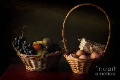 Baskets Art Print by Mike Dunbar