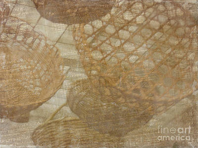 Photograph - Basketweave In Brown And Beige by Judi Bagwell