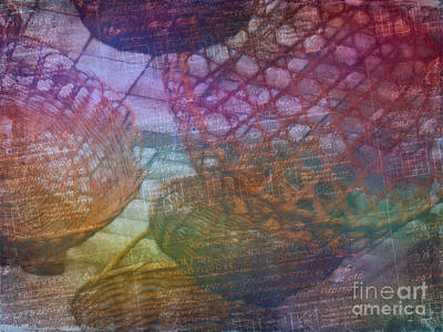 Photograph - Basketweave In Color by Judi Bagwell