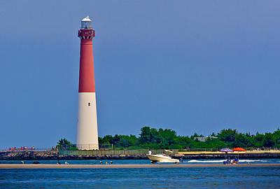 Lighthouse Photograph - Basking On The Sandbar by Mark Miller