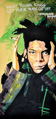 Basquiat Art Print by Erica Falke