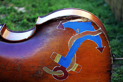 Upright Bass Photograph - Bass Anchor by Ty Helbach